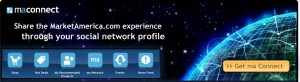 maNetwork application from marketamerica.com now available on facebook