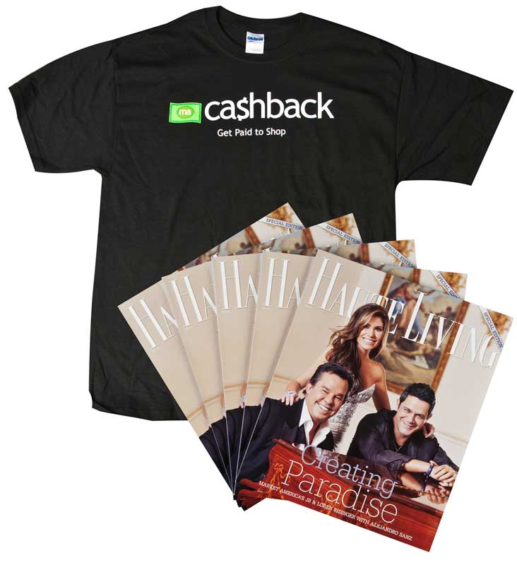 Earn cashback with Market America