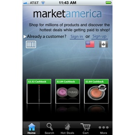 Market America upgrades ma Mobile app, adds backcode scanning