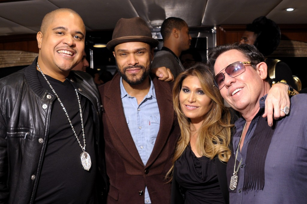 Irv Gotti, Maxwell, Loren Ridinger and JR Ridinger