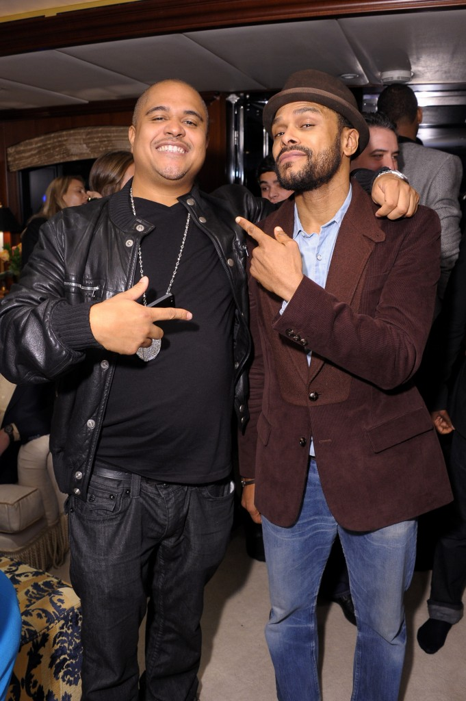 Irv Gotti and Maxwell