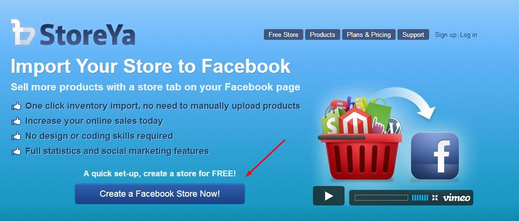 Social Media Monday: Setting Up StoreYa On Your Facebook Page