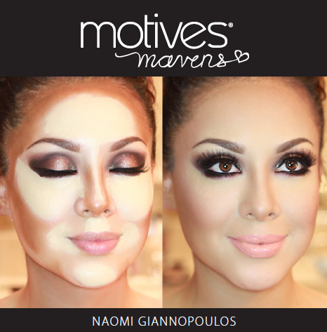 Get the Look: Motives Cosmetics Sculpt Series Palettes
