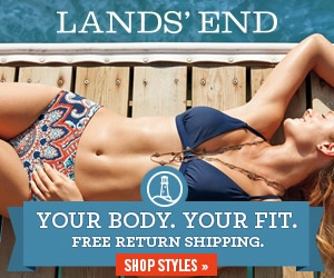 Lands End : 3% CB Shop Lands End for women s swimwear and