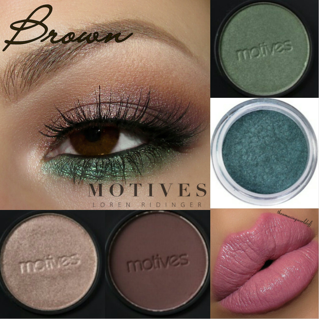 Get The Look MotivesR Products For Every Eye Color