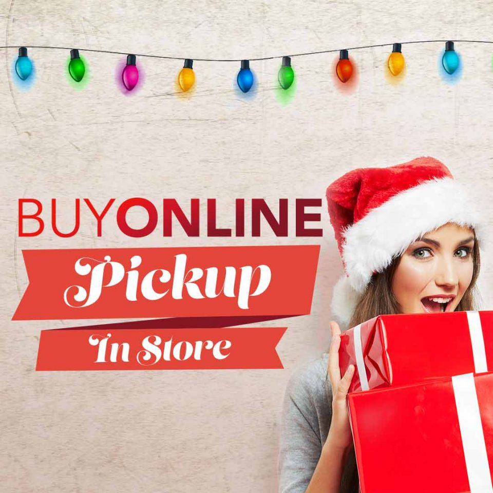 Order clothes online pickup in store