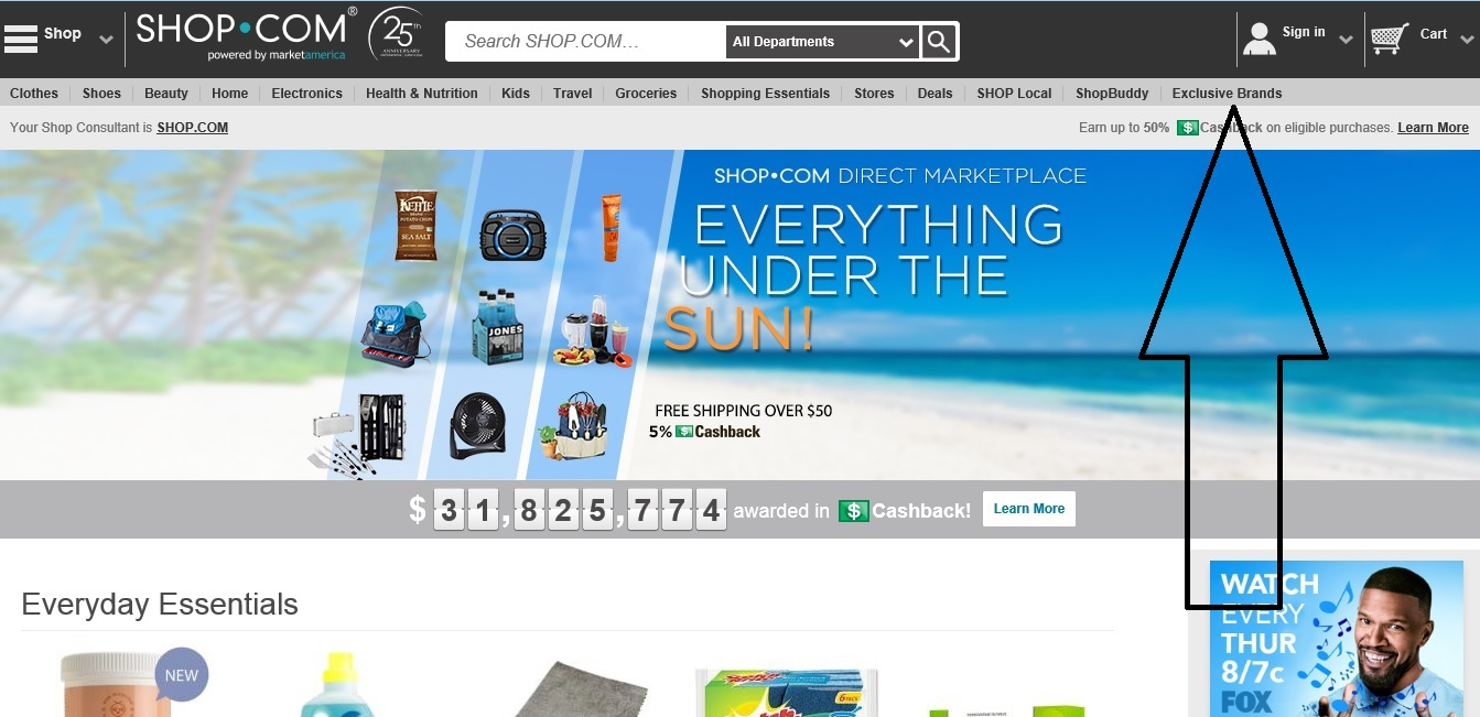 184fe1f7c23c ... now click the Exclusive Brands tab and shop their favorite Market  America products. Read on to learn more about this exciting new feature to  SHOP.COM!