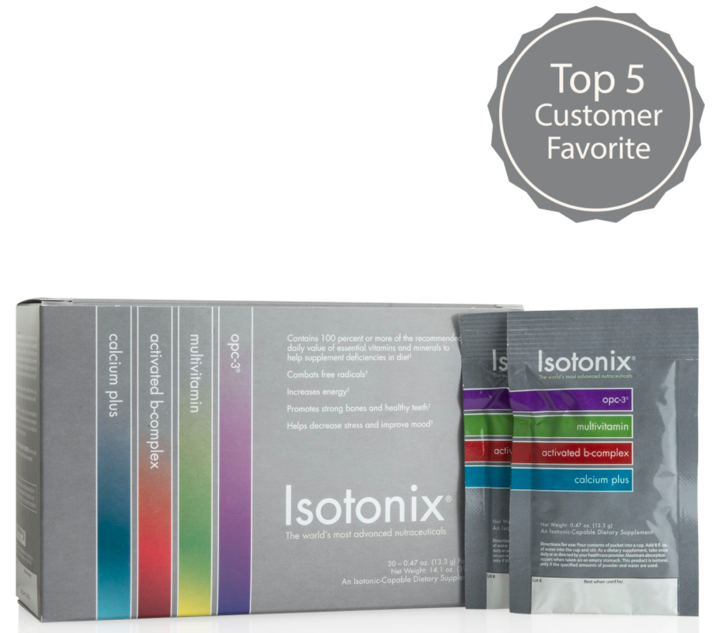 ISOTONIX DAILY ESSENTIALS PACKETS