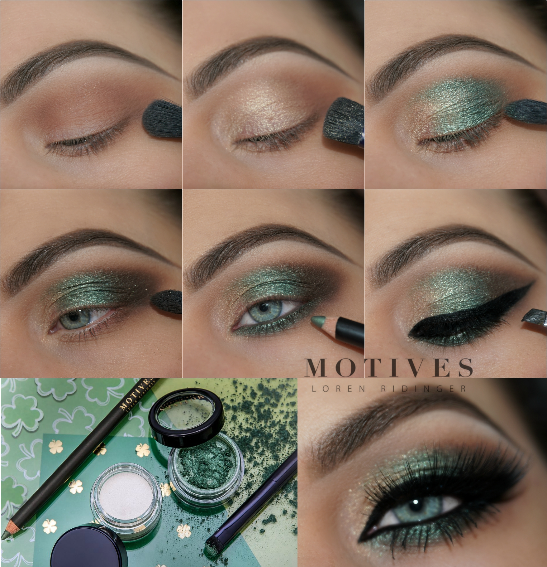 St Patrick S Day Green Makeup Ideas