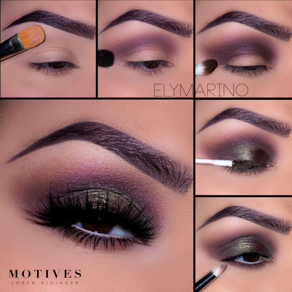 Motives® In The Mix Palette and Metal Eye Shadows