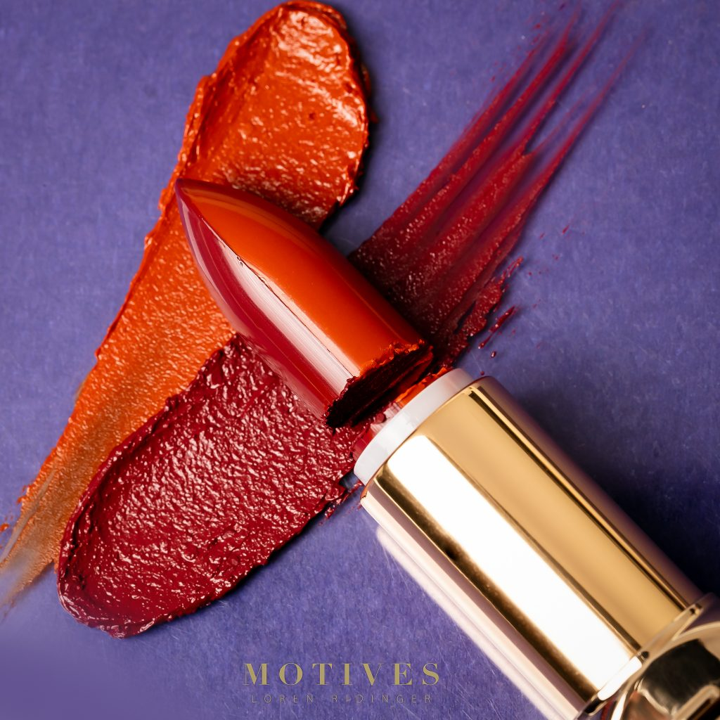 Fall Motives® Cosmetics Products lipstick duo in pumpkin spice