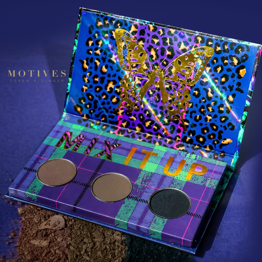 Fall Motives® Cosmetics Products in the mix palette