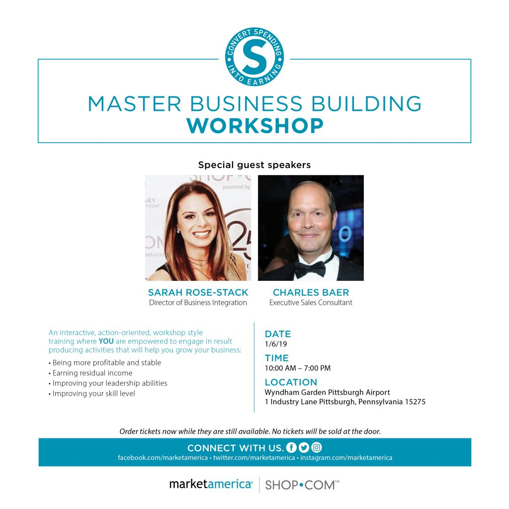 Master Business Building Workshops Coming To A City Near