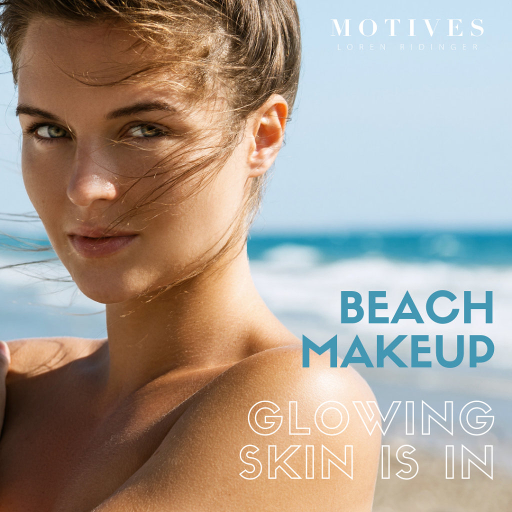 Beach Day Makeup Look With Motives & Tips To Help It Last